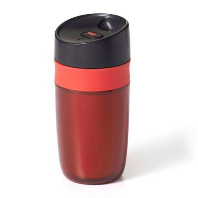 OXO Good Grips Single Serve 10 oz. Travel Mug in Red - Bed Bath & Beyond