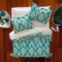 Aéropostale Katya 5-Piece Reversible Twin/Twin XL Comforter Set in Turquoise