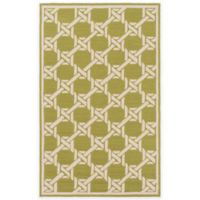 Surya Kazo 3-Foot x 5-Foot Indoor/Outdoor Area Rug in Olive