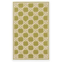 Surya Kazo 5-Foot x 8-Foot Indoor/Outdoor Area Rug in Olive