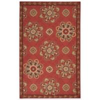 Surya Kelly 2-Foot x 3-Foot Indoor/Outdoor Accent Rug in Rust