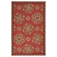 Surya Kelly 5-Foot x 8-Foot Indoor/Outdoor Area Rug in Rust