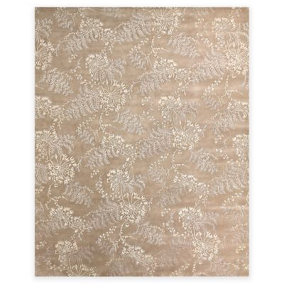 Feizy Dayuan 2 Foot X 3 Accent Rug In Beige