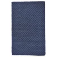 Feizy Devin Diamond 2-Foot x 3-Foot Accent Rug in Atlantic