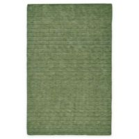 Feizy Devin Tufted 3-Foot 6-Inch x 5-Foot 6-Inch Area Rug in Olive