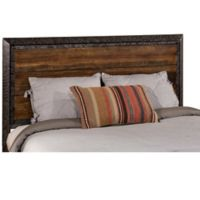 Hillsdale Mackinac Queen Headboard with Frame in Black/Wood