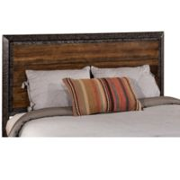 Hillsdale Mackinac Queen Headboard in Black/Wood