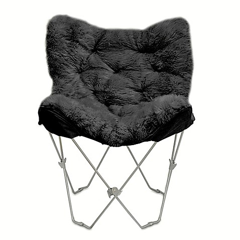 Faux Fur Butterfly Chair Bed Bath Amp Beyond