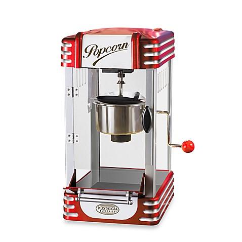nostalgia electrics 50 39 s style kettle popcorn popper. Black Bedroom Furniture Sets. Home Design Ideas