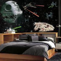 Star Wars™ Vehicles XL Chair Rail Prepasted 10.5-Foot x 6-Foot Mural