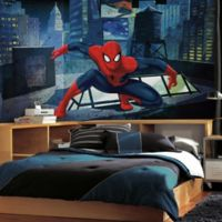 Ultimate Spider-Man CityScape 10.5-Foot x 6-Foot Mural