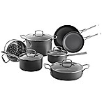 SALT™ Nonstick Hard Anodized 11-Piece Cookware Set