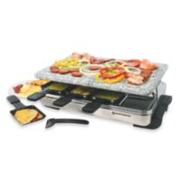 Swissmar® 8-Person Stelvio Raclette Party Grill with Granite Stone