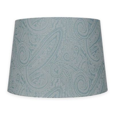 Buy medium lamp shade from bed bath beyond patterned hardback fabric medium lamp shade in teal audiocablefo