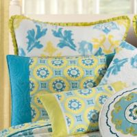 Delilah Standard Pillow Sham in Blue/Yellow