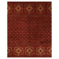Feizy Anchala 7-Foot 9-Inch x 9-Foot 9-Inch Area Rug in Red