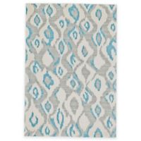 Feizy Gara Diamonds 5-Foot x 8-Foot Area Rug in Blue/Grey