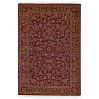 Feizy Armitage 7-Foot 9-Inch x 9-Foot 9-Inch Area Rug in Burgundy