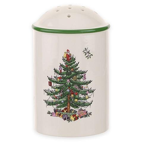 Spode Christmas Tree Sugar Shaker Bed Bath Beyond