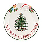 Spode® Christmas Tree 12-Inch  Merry Christmas  Puppy Platter
