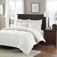 Madison Park Microcell Down Alternative Full/Queen Comforter Set in Ivory