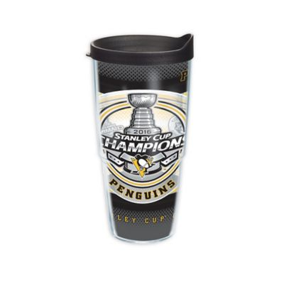 Tervis Nhl Stanley Cup Champions Pittsburgh Penguins 24 Oz Wrap Tumbler With Lid