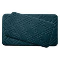 Bounce Comfort Caicos Memory Foam2-Piece Bath Mats in Slate
