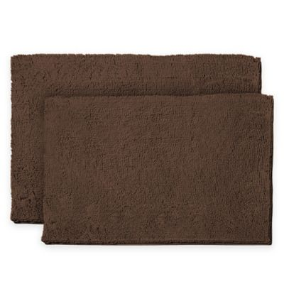 Buy Blue Brown Bath Rug From Bed Bath Amp Beyond