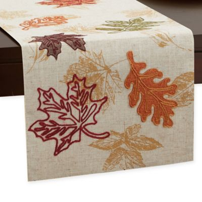 Charmant Fall Breeze 72 Inch Table Runner