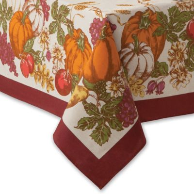 Buy Fall Tablecloths From Bed Bath Amp Beyond