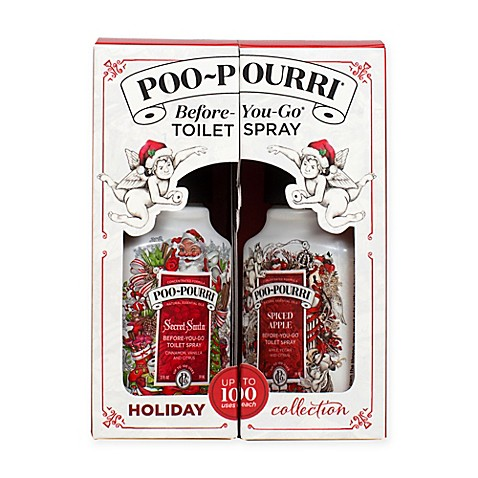 Poo Pourri Before You Go Toilet Spray 2 Piece Holiday Gift Set Bed Bath Beyond
