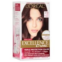 L'Oréal® Paris Excellence® Creme Triple Protection Hair Color in 4AR Dark Chocolate Brown
