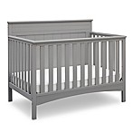 Delta Children Fancy 4-in-1 Convertible Crib in Grey