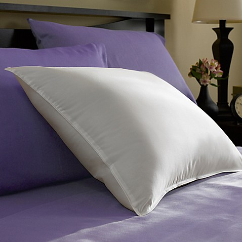 pacific coast feather co year round down pillow in white bed bath beyond. Black Bedroom Furniture Sets. Home Design Ideas
