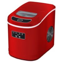 Whynter IMC-270MS Compact Portable Ice Maker with 27 lb. Capacity in Red