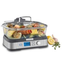 Cuisinart Cookfresh Digital Glass Steamer in Stainless Steel