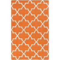 Artistic Weavers 3-Foot x 5-Foot Pollack Keely Area Rug in Orange/White
