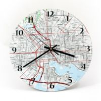 """USGS Clock - 12"""" - Personalized"""