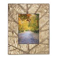 Lenox® Merona Leaf 5-Inch x 7-Inch Picture Frame