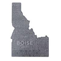 Top Shelf Living Idaho Etched Slate Cheese Board