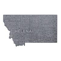 Top Shelf Living Montana Etched Slate Cheese Board