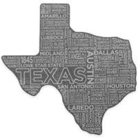 Top Shelf Living Texas Etched Slate Cheese Board