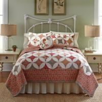 Nostalgia Home™ Mae Reversible Twin Quilt in Red
