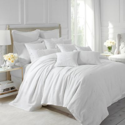 Dena Atelier Somerset Queen Duvet Cover In White