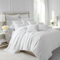 Dena™ Atelier Somerset Queen Duvet Cover in White
