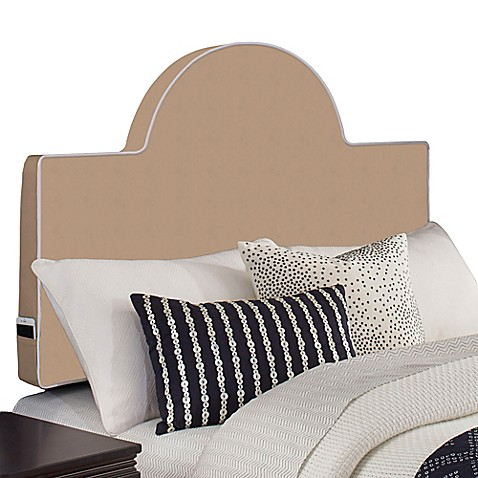 perfect fit instant rounded headboard pillow  bed bath  beyond, Headboard designs
