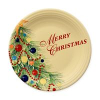 "Fiesta® Christmas Tree ""Merry Christmas"" Dinner Plate"