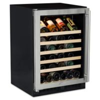 Marvel 61WCMBSGL 24-Inch Single-Zone Wine Cellar with Left-Hinged Door