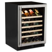 Marvel 61WCMBSGR 24-Inch Single-Zone Wine Cellar with Right-Hinged Door