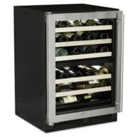 Marvel ML24WDG2LS 24-Inch Dual Zone Wine Cellar with Left-Hinged Door